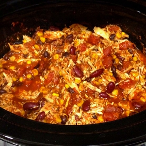 Chicken Taco Chili (for the skinny girl) - So Say You